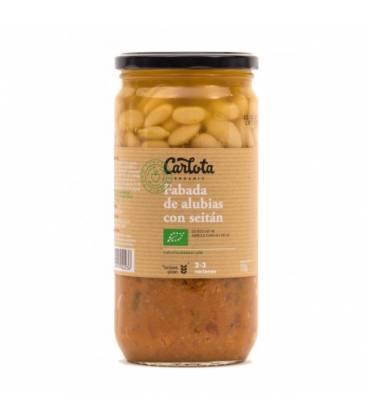 Fabada de alubias con seitán y shitake 720 g de Carlota Organic