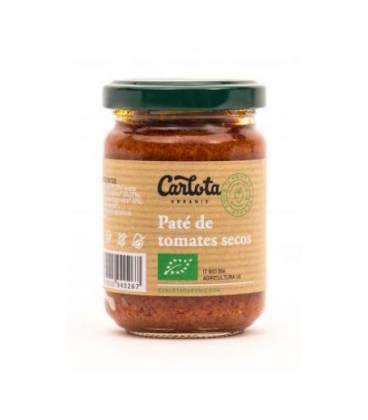 Paté de tomates secos 140 g de Carlota Organic