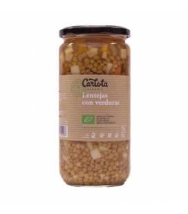 Lentejas con verduras 720 g de Carlota Organic