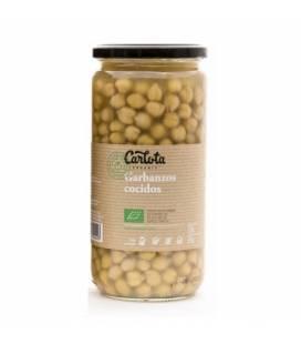 Garbanzos cocidos 720 g de Carlota Organic