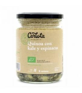 Quinoa con kale y espinacas 425 g de Carlota Organic
