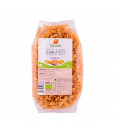 Espirales de garbanzos sin gluten BIO 250 g de Vegetalia