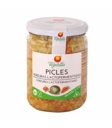 Picles verduras lactofermentadas BIO 320 g de Vegetalia
