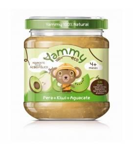 Potito de pera, kiwi y aguacate BIO (+4meses) 195 g de Yammy