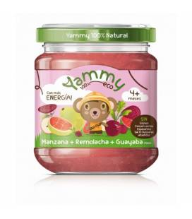 Potito de manzana, remolacha y guayaba BIO (+4meses) 195 g de Yammy