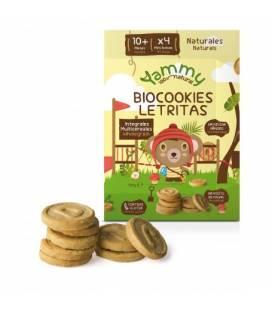 Galletas BIOcookies mini letras (+10meses) 150 g de Yammy