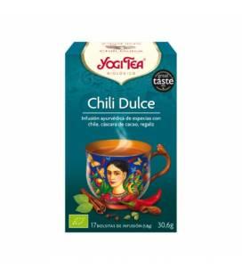 Yogi Tea Chili dulce BIO 17 bolsitas