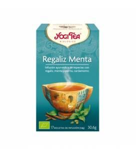 Yogi Tea Regalíz Menta BIO 17 bolsitas