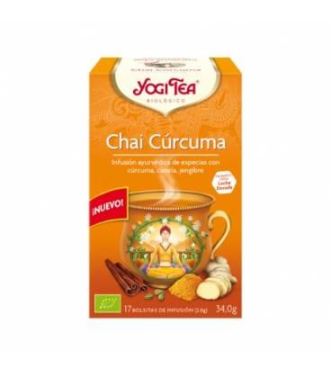Yogi Tea Chai Cúrcuma BIO 17 bolsitas