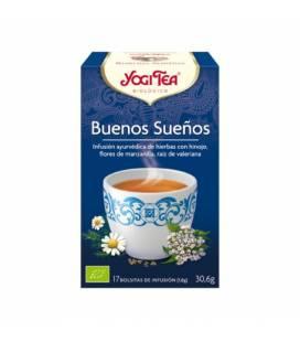 Yogi Tea Buenos Sueños BIO 17 bolsitas
