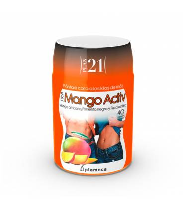 Plan mango Activ 40 cápsulas de Plameca