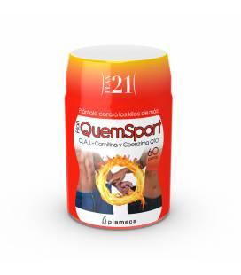 Plan 21 QuemSport 60 perlas de Plameca CLA + Q10