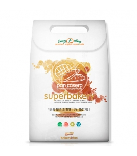 Superbakery preparado de pan eco sin gluten de Energy Fruits