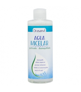 Agua micelar desmaquillante e hidratante 250ml de Drasanvi