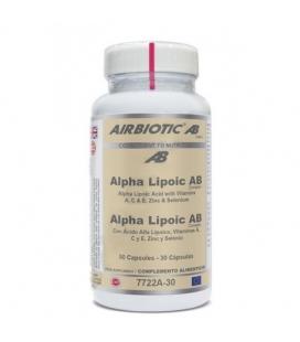 Ácido alfa lipoico complex 30 cápsulas de Airbiotic