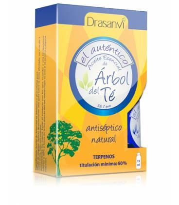 ACEITE DE ARBOL DEL TE 100% 15ml de Drasanvi