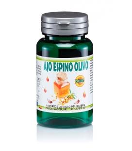 Ajo, Espino y Olivo 90 cápsulas de 695,20 mg de Robis