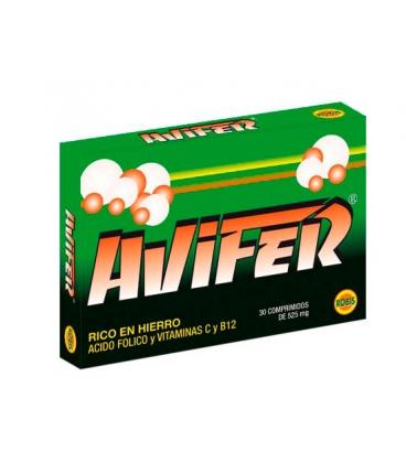 Avifer 30 comprimidos de 525 mg de Robis