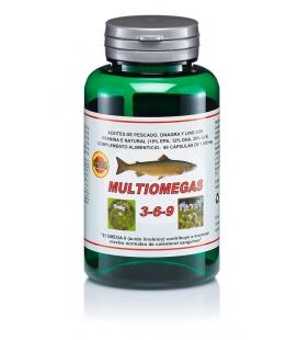 Multiomegas 3-6-9 envase 60 cápsulas de 1000mg de Robis