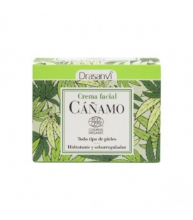 Crema facial cáñamo BIO 50 ml de Drasanvi