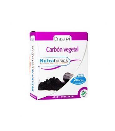 Carbón vegetal 60 cápsulas de Drasanvi