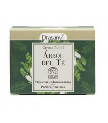 Crema facial árbol del té BIO 50 ml de Drasanvi