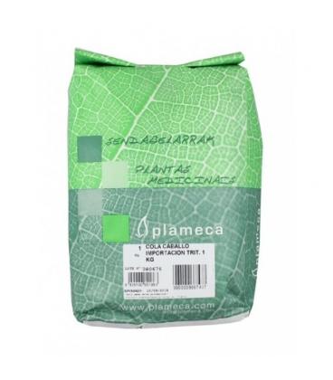 Cola de caballo triturada importación 1 kg de Plameca