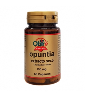 Opuntia extracto seco 60 cápsulas de 150 mg de Obire