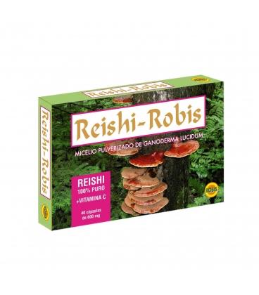 Reishi 40 cápsulas de 600 mg de Robis
