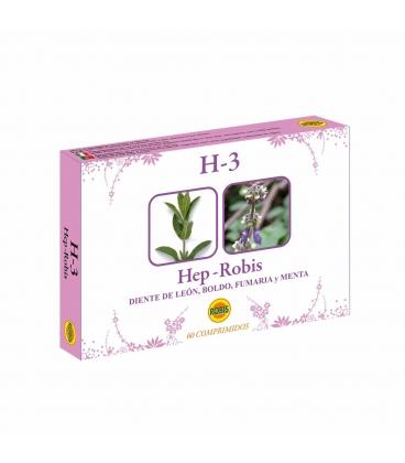 H-3 Hep-Robis 60 comprimidos de 350mg de Robis