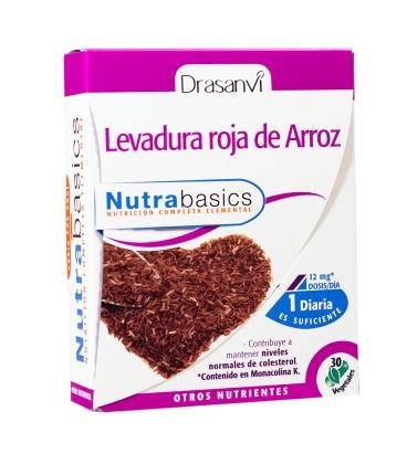 Levadura roja de arroz 30 cápsulas de Drasanvi