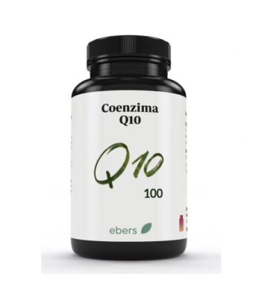Coenzima Q-10 30 cápsulas de 100 mg de Ebers