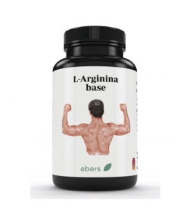 L-Arginina base 60 cápsulas de 500 mg de Ebers