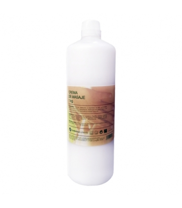 Crema base de masaje 1 kg de Ebers