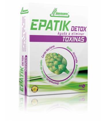 EPATIK DETOX 30 Comprimidos de Drasanvi