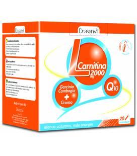 L-CARNITINA 2000mg 20 viales de Drasanvi