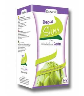 Depurslim con alcachofa de laón 14 Ampollas de Drasanvi