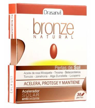 BRONCEADOR NATURAL (acelarador solar antioxidante) 30 perlas de Drasanvi