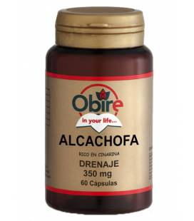ALCACHOFA 350mg 60 Cápsulas de Obire