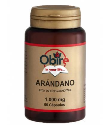ARANDANO 1000mg 60 Cápsulas de Obire