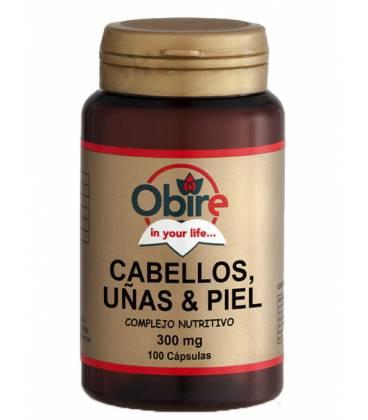 Cabellos,uñas y piel (levadura+selenio) 100 Cápsulas de Obire