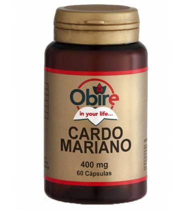 Cardo mariano 60 Cápsulas de 400mg de Obire