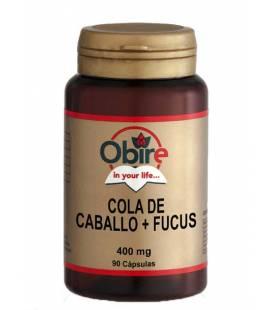 COLA DE CABALLO+FUCUS 400mg 90 Cápsulas de Obire