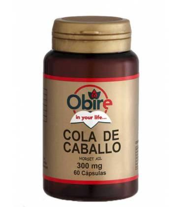 COLA CABALLO 300mg 60 Cápsulas de Obire