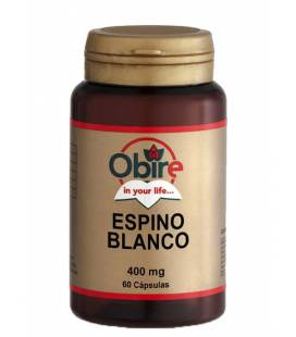 ESPINO BLANCO 400mg 60 Cápsulas de Obire