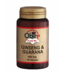 GINSENG+GUARANA 400mg 90 Cápsulas de Obire