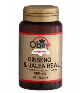 GINSENG+JALEA REAL 600mg 60 Cápsulas de Obire