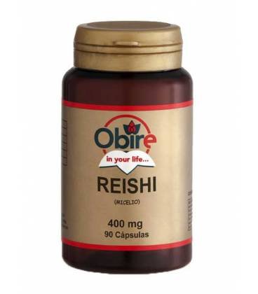 Reishi (micelio) 90 cápsulas 400mg de Obire