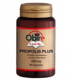 Própolis Plus (Própolis + Echinácea + Tomillo + Vitamina C) 90 cápsulas de Obire