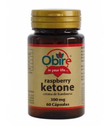 CETONAS DE FRAMBUESA (Raspberry ketone) 300mg 60 Cápsulas de Obire